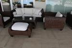Маси и столове ратан за заведения на басейн