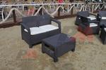 Маси и столове от ратан за плаж за външно и вътрешно ползване