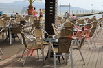 Модерни маси и столове ратан за плаж