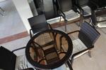 Маси и столове от ратан антрацит