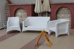 Цена на маси и столове от бял ратан