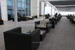 Промоция на маси и столове от тъмен ратан