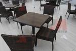 Столове от ратан за ресторанти за всяка обстановка