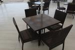 Цена на маси и столове от ратан антрацит