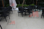 Красиви маси и столове от ратан антрацит
