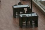 Екзотични бар столове от ратан за заведения