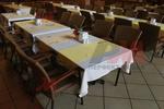 Универсален стол от ратан за ресторанти за всесезонно използване
