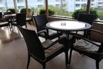 Маси и столове, произведени от ратан за кафене