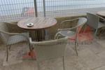 Ниски цени на маси и столове ратан бежови