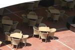 Лукс маси и столове ратан бежови