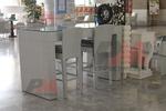 Бар столове от ратан за заведения и вътрешно ползване