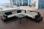 Мебели от тъмен ратан