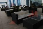 Дизайнерски маси и столове ратан за кафене