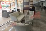 Модерни маси и столове ратан за кафене