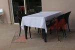 Елегантни маси и столове от ратан за интериор