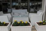 Топ качество на маси и столове от бял ратан