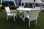 Лукс маси и столове от ратан за басейн