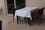 Стилни маси и столове ратан за кафене