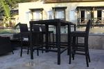 Красиви бар столове от ратан за заведения
