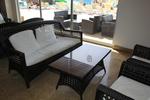 Модерни маси и столове ратан за лятно заведение