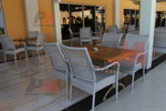 Маси и столове ратанови за басейн