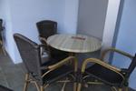Маси и столове от ратан за интериор за къща