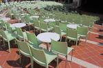 Пластмасови столове за плаж, с доставка