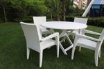 Ниски цени на маси и столове от изкуствен ратан