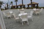 Ратанови мебели от бял ратан