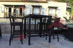 Бар столове от ратан за заведения за всяка обстановка