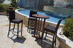 Бар столове от ратан за заведения за къща