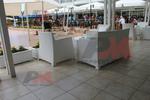 Евтини маси и столове от бял ратан