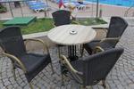 Стилна база за бар маса за ресторант