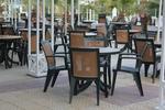 Пластмасова маса за ресторант за заведение
