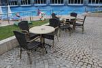 Бази за маси за басейни, за външно ползване