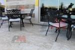 Стойка за маса за хотел за външно ползване