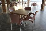 Метални комбинирани стойки за маса