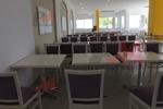 Дизайнерски прахово боядисани стойки за маса