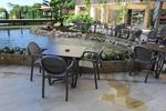 Устойчива стойка за бар маса за басейн