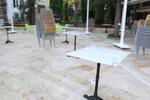 Дизайнерска база за бар маса за заведение