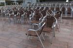 Универсален стол от алуминии за хотел за вътрешно и външно използване