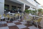 Алуминиеви столове за открито заведение с разнообразни размери
