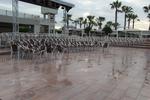 Градински алуминиеви столове за заведение
