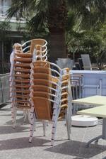 Алуминиеви столове за басейн