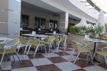 Модерни градински алуминиеви столове