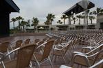 Градински столове от алуминии за хотел