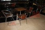 качествен алуминиев стол за кафене