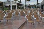 Алуминиеви столове за открито заведение