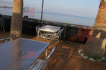 Метална алуминиева маса за кафене