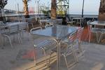 Алуминиева правоъгълна маса за заведения за открити пространства